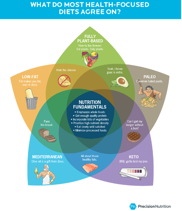 Diet Agreement Infographic